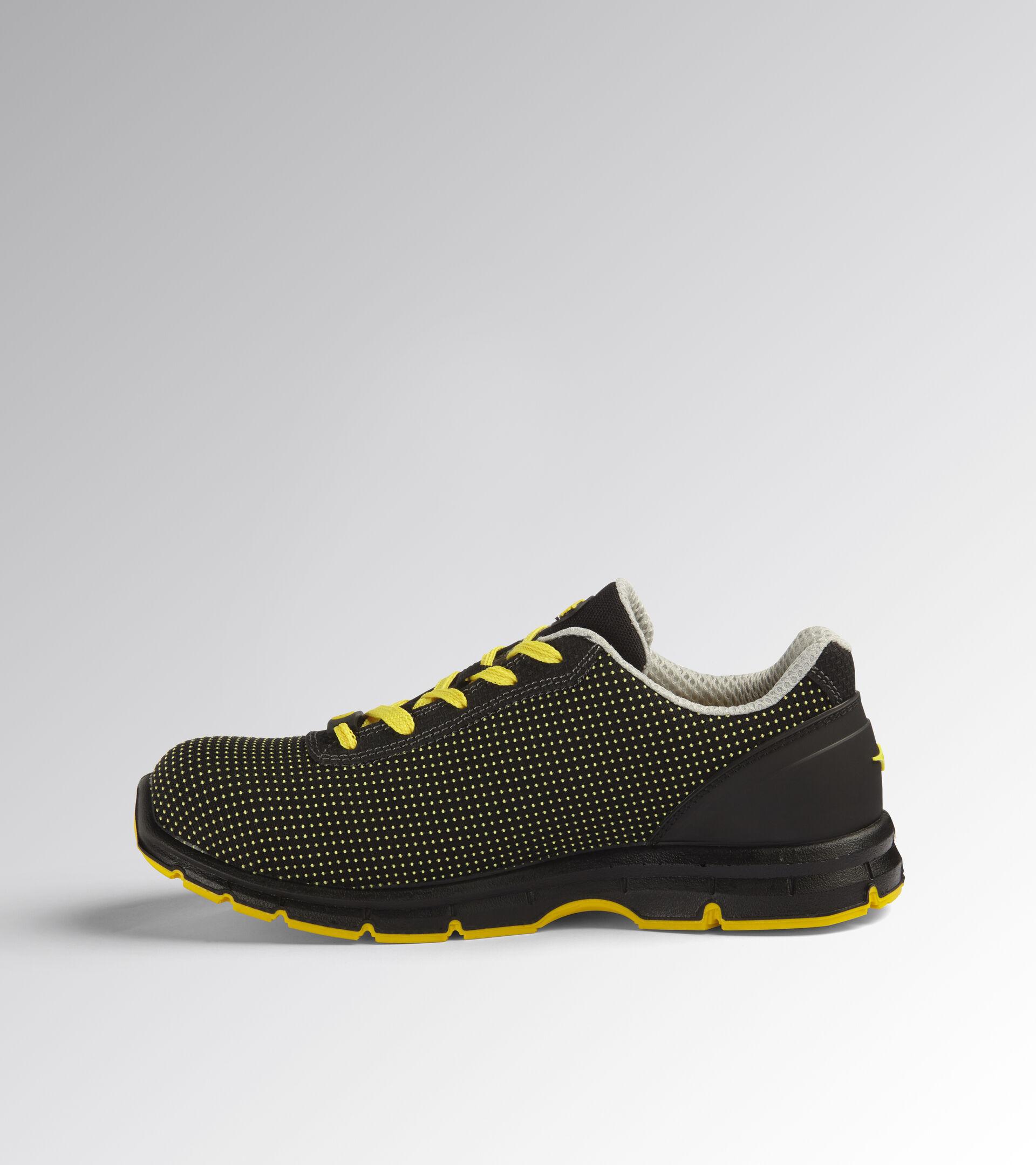 Footwear Utility UNISEX RUN ATOM LOW S3 SRC ESD BLACK /YELLOW CROMS Utility