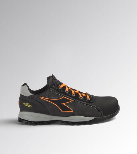 Footwear Utility UNISEX GLOVE NET LOW PRO S3 HRO SRA ESD ASPHALT/ORANGE FLUO Utility
