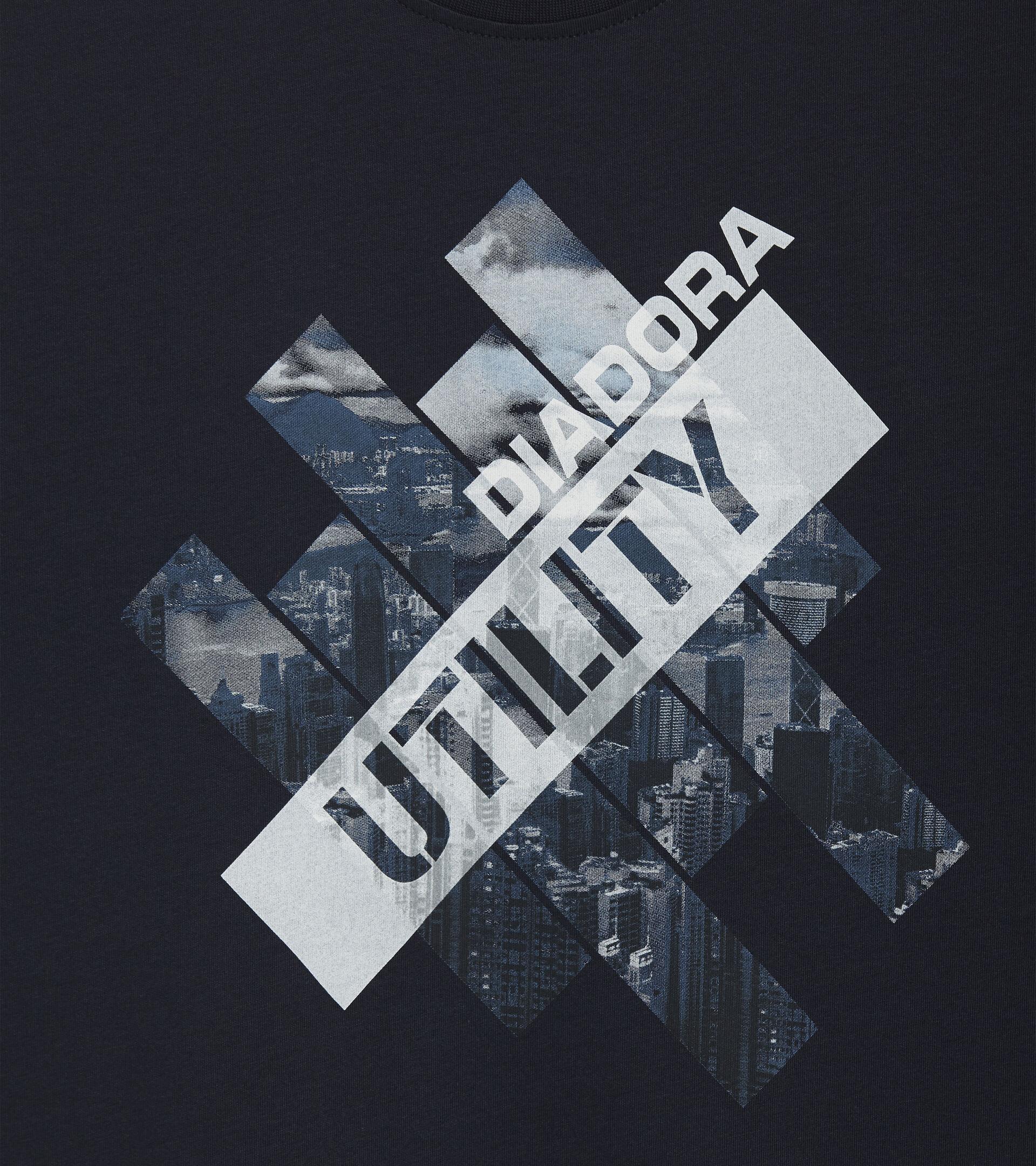 Apparel Utility UOMO T-SHIRT GRAPHIC ORGANIC BLUE/DEEP SPACE Utility