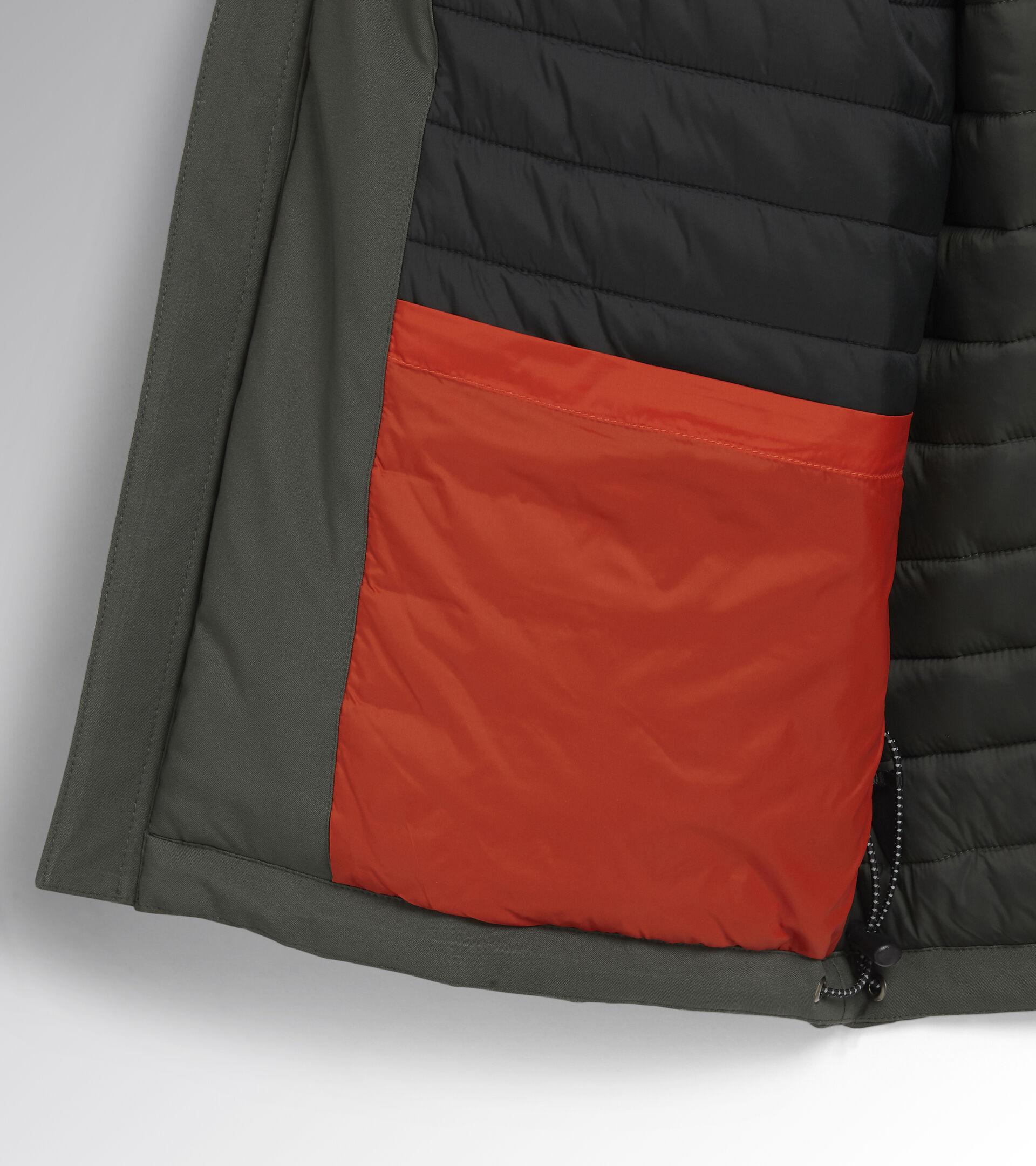 Work jacket PADDED JACKET CROSS GREEN THYME - Utility