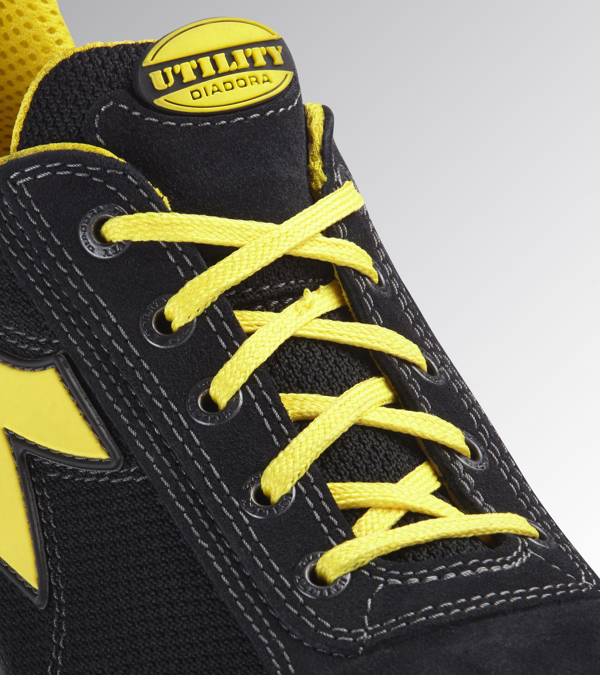 Footwear Utility UNISEX GLOVE TEXT LOW S1P HRO SRA BLACK Utility