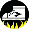 High shoes provide robust support at the ankle and are ideal for those who work on particularly uneven ground.