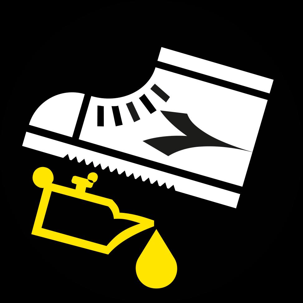 Kohlenwasserstoffbeständige Schuhsohle