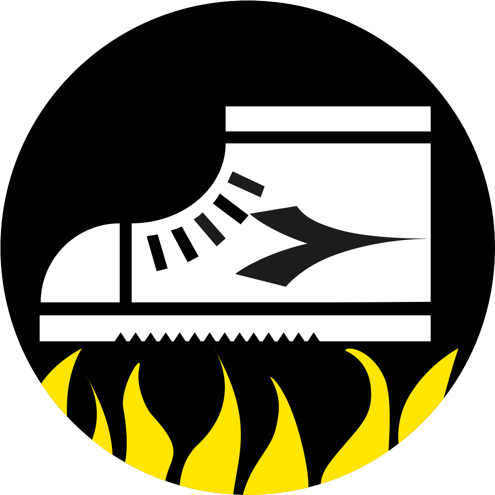 Heat resistant sole
