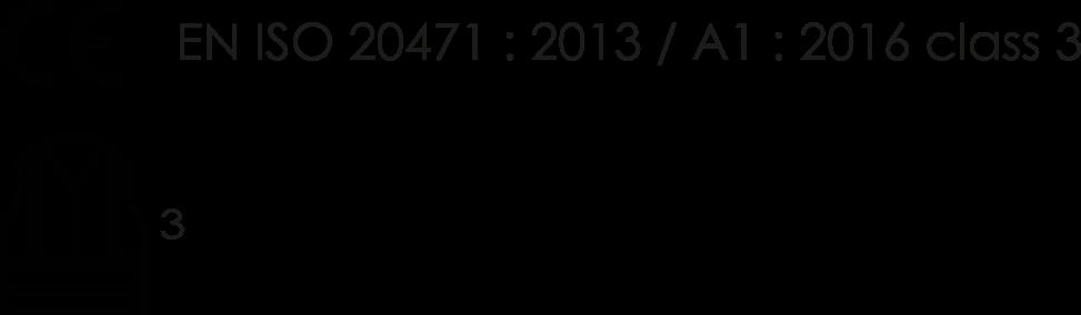 EN ISO 20471:2013/A1:2016 CLASS 3