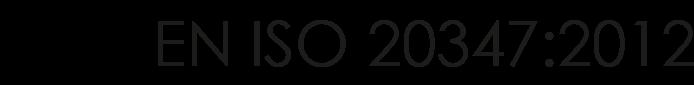 EN ISO 20347:2012