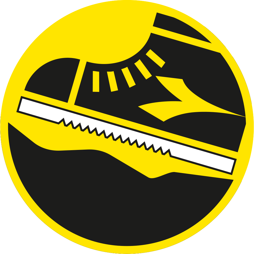 Outer sole for rough ground